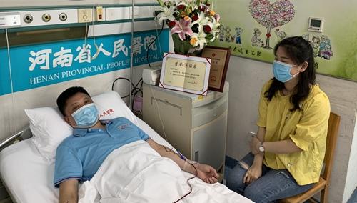 河南方城:一医生捐献造血干细胞救人