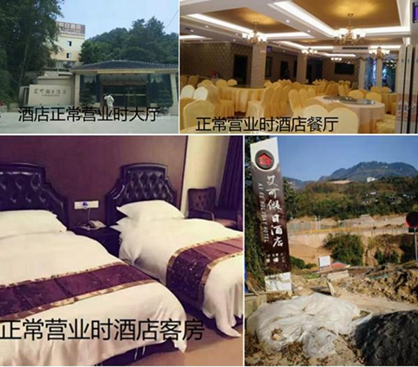 武隆国资委下属三企业联手打压民企,导致艾可酒店破产