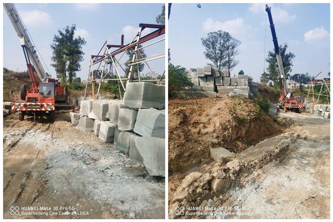 四川省资中县毁地采石泛滥 村民向县自然资源管理规划局长投诉也不管事
