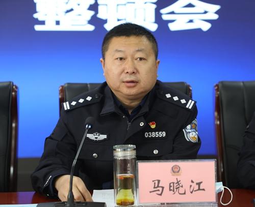 绥德交警展开全警执法规范化集中练兵培训