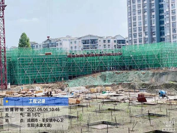 邛崃市住建局为欢乐颂二项目办理施工许可证惹争议